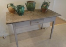 Painted Swedish Table