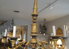 19th c chandelier