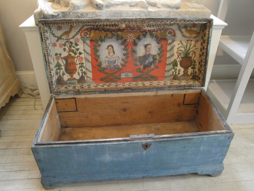 Blanket Chest Marston Luce Antiques
